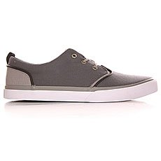 Кеды низкие Quiksilver Griffin Canvas Shoe Grey/White