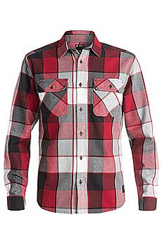 Рубашка в клетку DC Kalis Plaid Ls Wvtp Kalis Plaid Chili Pepper