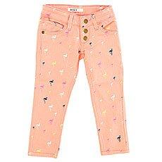 Джинсы прямые детские Roxy Yellow Pant Big Pop Flamingo Com