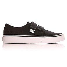 Кеды низкие детские DC Trase V B Shoe Black/White