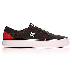 Кеды низкие детские DC Trase Tx B Shoe Black/Red
