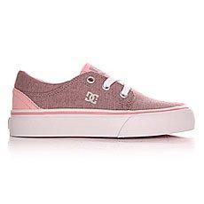 Кеды низкие детские DC Trase Tod Tx Se G Shoe Pink/White