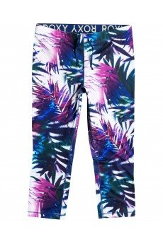 Леггинсы женские Roxy Relay Capri J Pant Sea Salt Jungle Time