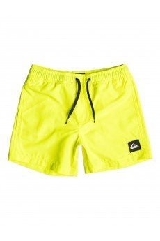 Шорты пляжные детские Quiksilver Every Volley Jamv Safety Yellow