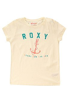 Футболка детская Roxy Rgcrewanchor Tees Sand Piper