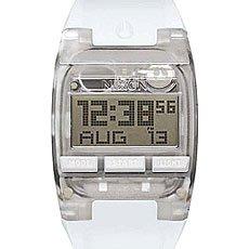 Электронные часы Nixon Comp Silver White