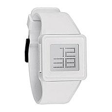 Электронные часы Nixon Newton Digital White