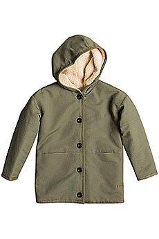 Куртка детская Roxy Crashing Waves K Jckt Dusty Olive