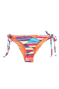 Плавки женские Roxy Tie Side Surfer Desert Point Geo Com
