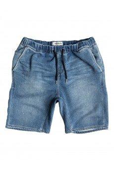 Шорты джинсовые Quiksilver Foniden Fleeshor Worn Wash