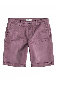 Шорты классические Quiksilver Krandy Chin short Plum Wine