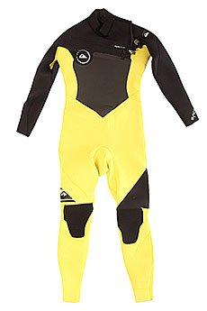 Гидрокостюм (Комбинезон) детский Quiksilver 3/2mm Syncc Boy Black/Yellow