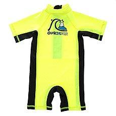 Гидрокостюм (Комбинезон) детский Quiksilver Bubblespringinf Safety Yellow