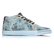 Кеды высокие DC Council Mid Lx Washed Indigo