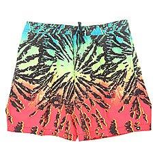 Шорты пляжные Quiksilver Glitchedvl17 Glitched Fiery Coral