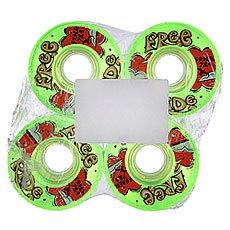 Колеса для лонгборда Sector 9 Freeride 5 Wheels Green 78A 59 mm