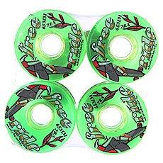Колеса для лонгборда Sector 9 Freeride 6 Wheels Green 78A 65 mm