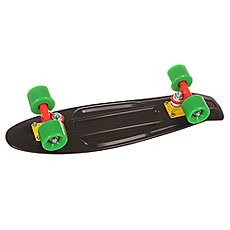 Скейт мини круизер St Black Mamba Black 6 x 22.5 (57.2 см)