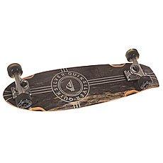 Скейт мини круизер Quiksilver Black Beauty Black 8.5 x 29 (73.6 см)