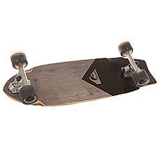 Скейт мини круизер Quiksilver Black Traction Black 9 x 28 (71 см)