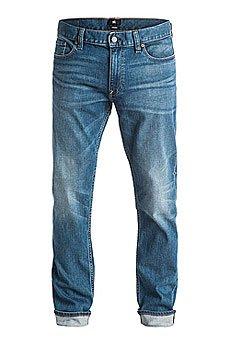 Джинсы прямые DC Washed Straigh Pant Blue