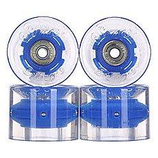 Колеса для лонгборда с подшипниками Sunset Cruiser Wheel With Abec9 Blue Ano 78A 59 mm