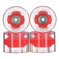 Колеса для лонгборда с подшипниками Sunset Cruiser Wheel With Abec9 Red Ano 78A 59 mm