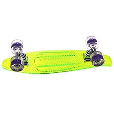 Скейт мини круизер Sunset Alien Complete Green Deck Blacklght Ano Wheels