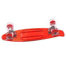 Скейт мини круизер Sunset Lifeguard Complete Red Deck Red Ano Wheels 6 x 22 (56 см)