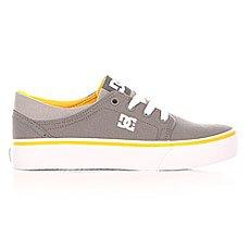 Кеды низкие детские DC Trase Tx Grey/White/Yellow