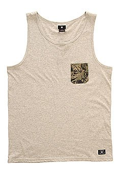 Майка DC Contra Tank Kttp Light Heather Grey