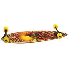 Лонгборд Landyachtz Bamboo Totem Orange/Red/Gold 10 x 41 (104 см)