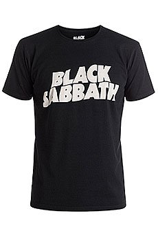 Футболка Quiksilver Black Sabbath Cla Tees Black