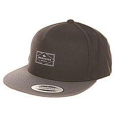 Бейсболка с прямым козырьком Quiksilver Freewill Hats Black