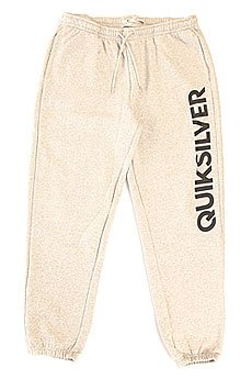 Штаны спортивные Quiksilver Trackpantscreen Light Grey Heather