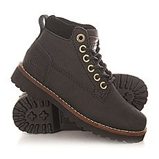 Ботинки высокие детские Quiksilver Mission Ii Solid Black