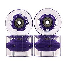 Колеса для лонгборда Sunset Cruiser Wheel With Abec9 Purple 78A 69 mm