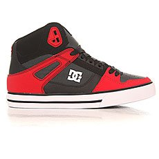 Кеды высокие DC Spartan High Wc Red/Grey/Black