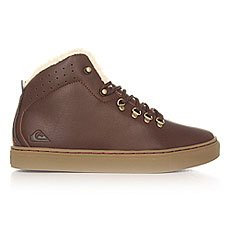 Кеды утепленные Quiksilver Jax Deluxe Shoe Brown