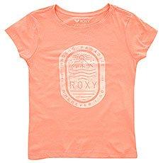 Футболка детская Roxy Rg Basic Stamp Peach Amber