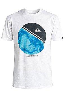 Футболка Quiksilver Classfreewheeli White/Blue