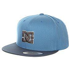 Бейсболка с прямым козырьком DC Shoes Snappy Hats Copen Blue