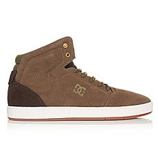 Кеды высокие DC Crisis High Brown/Dark Olive