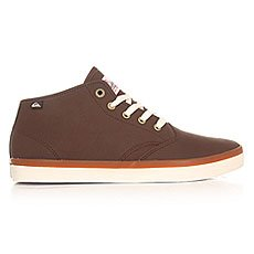 Кеды высокие Quiksilver Shorebrekdelmid Brown