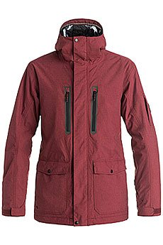 Куртка Quiksilver Dark Stormy Pomegranate