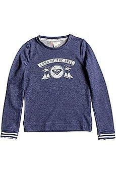 Толстовка свитшот детская Roxy Under G Otlr Blue Print