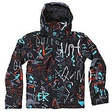 Куртка детская Quiksilver Mission Print Hieline Blue
