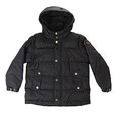 Куртка зимняя детская Quiksilver Woolmore Dark Heather Grey