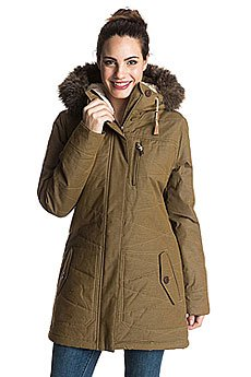 Куртка парка женская Roxy Tara Military Olive