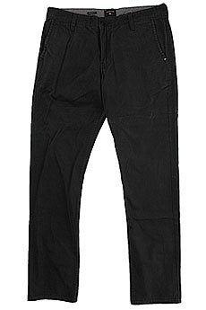 Штаны прямые Quiksilver Everyday Chino Black